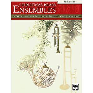 Christmas Brass Ensembles - Trombone 1
