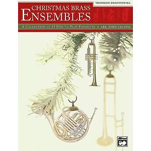 Christmas Brass Ensembles - Trombone 2/Baritone B.C.