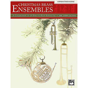 Christmas Brass Ensembles - Conductor's Score