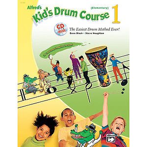 Alfred's Kid's Drum Course 1 - Book & CD