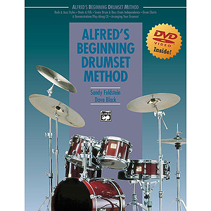 Alfred's Drumset Method - Book & DVD - Bound