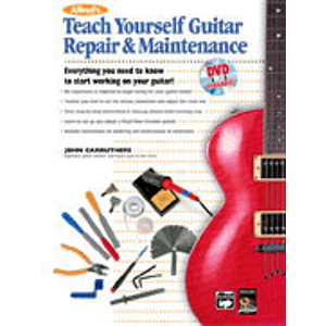 Alfred's Teach Yourself Guitar Repair & Maintenance - Book & DVD