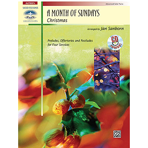 A Month of Sundays: Christmas - Book & CD