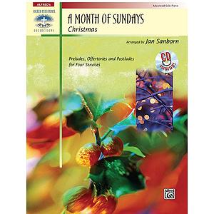 A Month of Sundays: Christmas - Book & CD