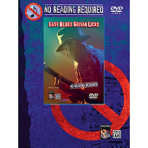 No Reading Required - Easy Blues Guitar Licks - DVD