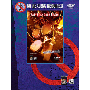 No Reading Required: Easy Rock Drum Beats - DVD