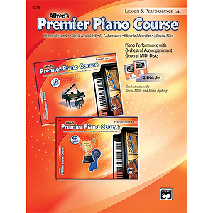 Alfred's Premier Piano Course - General MIDI Disks (Lesson & Performance) Level 1A