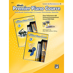 Alfred's Premier Piano Course - General MIDI Disks (Lesson & Performance) Level 1B