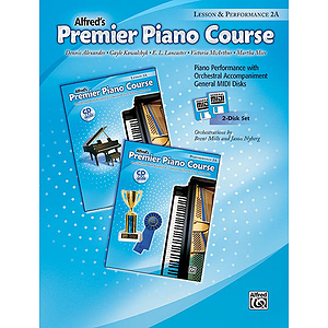 Premier Piano Course: GM Disk for Lesson and Performance, Level 2A