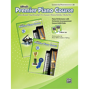 Premier Piano Course: GM Disk for Lesson and Performance, Level 2B