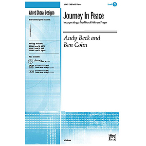 Journey in Peace (Incorporating A Traditional Hebrew Prayer) - SAB (W/Opt. Flute)