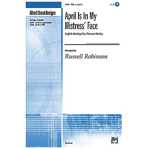 April Is in My Mistress&#039; Face (English Madrigal By Thomas Morley) - Tbb, A Cappella