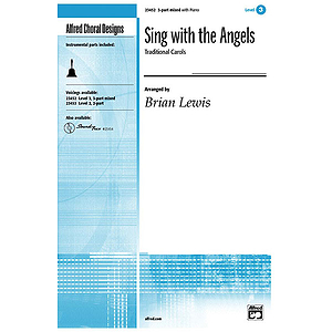Sing with The Angels - 3-Part Mixed (W/Opt. Bells)