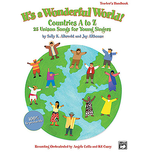 It's A Wonderful World (Countries A-Z) - CD Kit - Book & CD