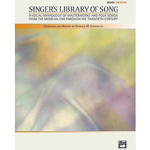 Singer's Library of Song - 2 Accompaniment CDs (Medium)