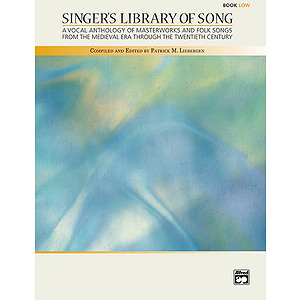 Singer's Library of Song - 2 Accompaniment CDs (Low)