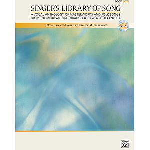 Singer's Library of Song - Book and 2 Accompaniment CDs (Low)