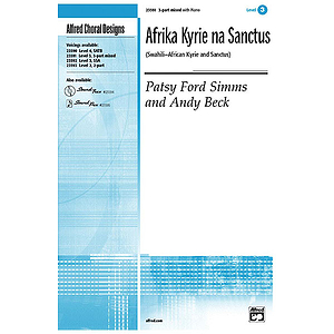 Afrika Kyrie Na Sanctus - 3-Part Mixed