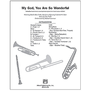 My God, You Are So Wonderful - InstruPax