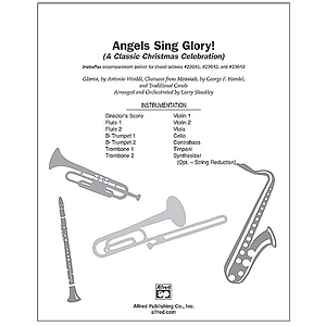 Angels Sing Glory (A Classic Christmas Celebration) - InstruPax