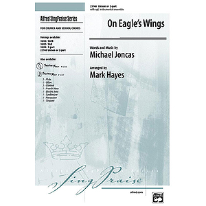 On Eagles Wings - Unison/2-Part