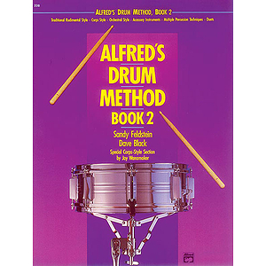 Alfred's Drum Method, Book 2 - Book