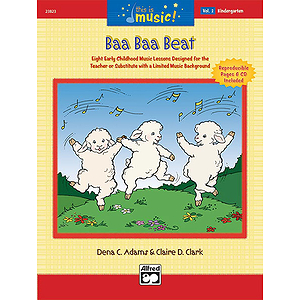 Baa Baa Beat (Kindergarten) - Book and CD