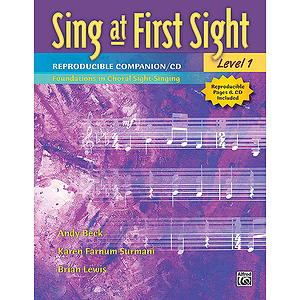 Sing At First Sight Reproducible Companion - Book and CD