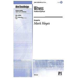 Witness - SATB, Divisi