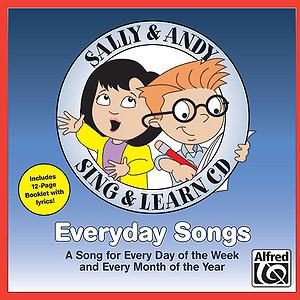 Everyday Songs - Sing & Learn CD