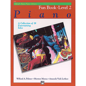Alfred's Basic Piano Course - Fun Book Level 2