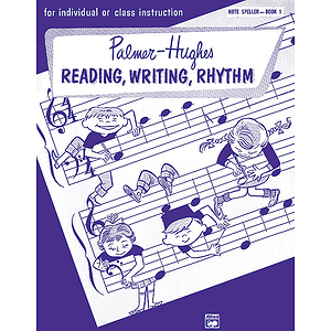 Palmer-Hughes Accordion Course Note Spellers - Book 1