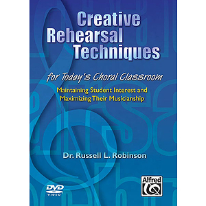 Creative Rehearsal Techniques - DVD