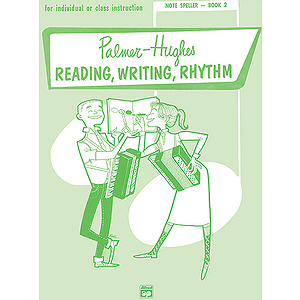 Palmer-Hughes Accordion Course Note Spellers - Book 2
