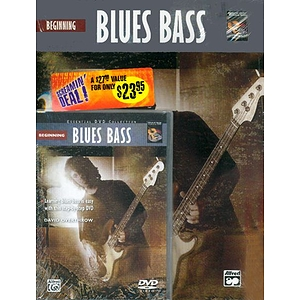 Complete Electric Bass Method: Beginning Blues Bass (DVD)