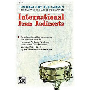 International Drum Rudiments - DVD