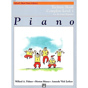 Alfred&#039;s Basic Piano Course - Technic Book - Complete Level 1 (1A/1B)