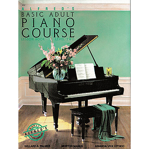 Alfred's Basic Adult Piano Course - Lesson Book Level 2, Book Only