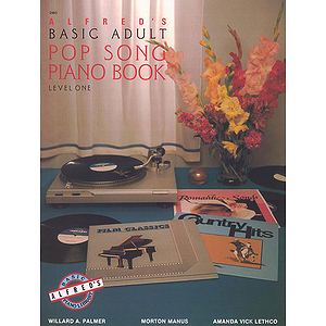 Alfred's Basic Adult Piano Course - Pop Song Book (Level 1)