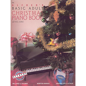 Alfred's Basic Adult Piano Course - Christmas Piano Book - Level 1