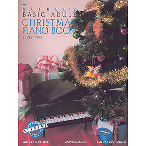 Alfred's Basic Adult Piano Course - Christmas Piano Book - Level 2