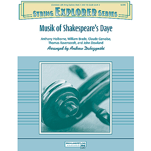 Musik of Shakespeare's Daye
