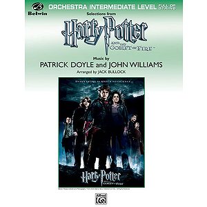 Selections From Harry Potter and The Goblet of Fire!