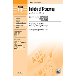 Lullaby of Broadway (and Forty-Second Street)