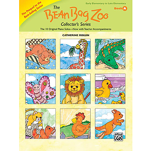 The Bean Bag Zoo Collector's Series, Book A