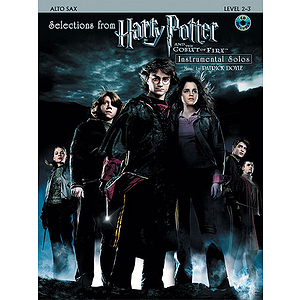 Selections From Harry Potter and The Goblet of Fire - Alto Sax