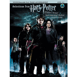 Selections From Harry Potter and The Goblet of Fire (Violin) - Book & CD