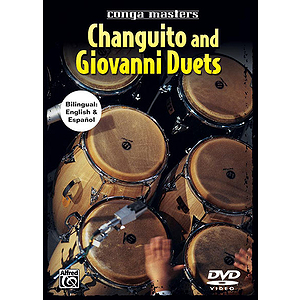 Giovanni Hidalgo, Changuito - Conga Masters: Changuito and Giovanni Duets (DVD)