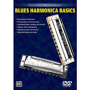 Ultimate Beginner Series Basics: Blues Harmonica 1 & 2 (DVD)