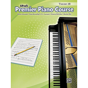 Premier Piano Course: Theory Book 2B